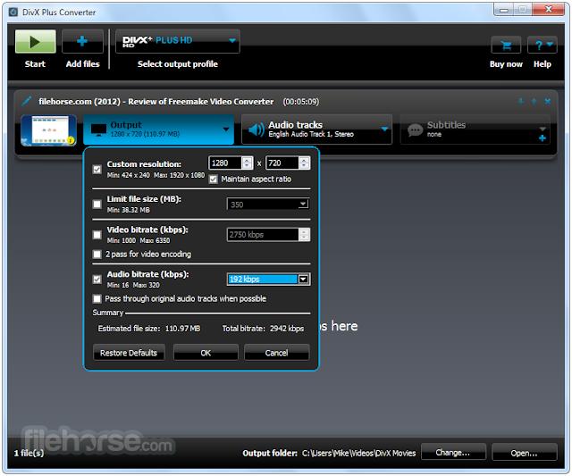 تحميل برنامج العملاق DivX Plus Pro 10.2.3 مشغيل الملتيميديا مجانا 2016
