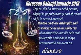 Horoscop ianuarie 2018 Balanță