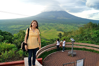 Mayon Volcano from Lignon Hill