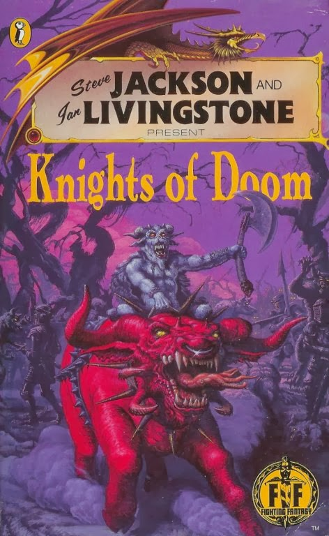 Jonathan Green Author Gamebook Friday Knights Of Doom Review