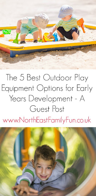 The 5 Best Outdoor Play Equipment Options for Early Years Development
