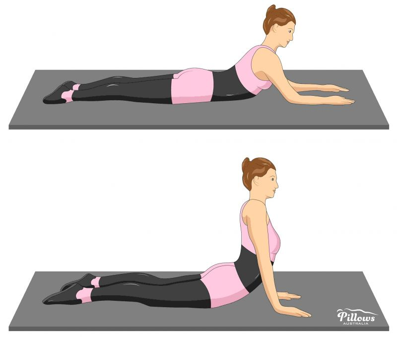 18 Easy Stretches In 18 Minutes To Help Reduce Back Pain - EXTENSION EXERCISE
