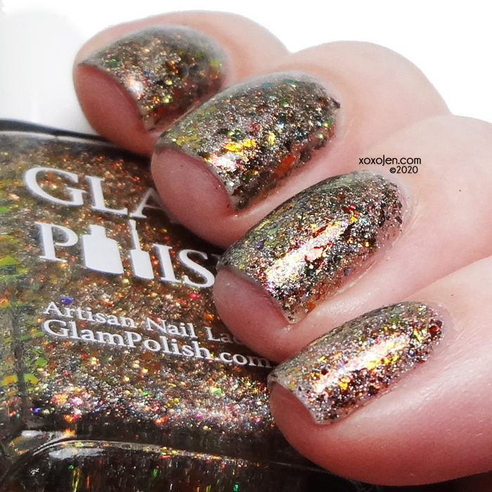 xoxoJen's swatch of Glam Polish I Have Spoken