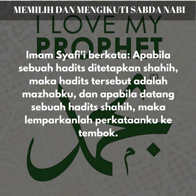 Nasehat Imam Syafi'i yang Menampar Manusia untuk Menjadi Lebih Baik