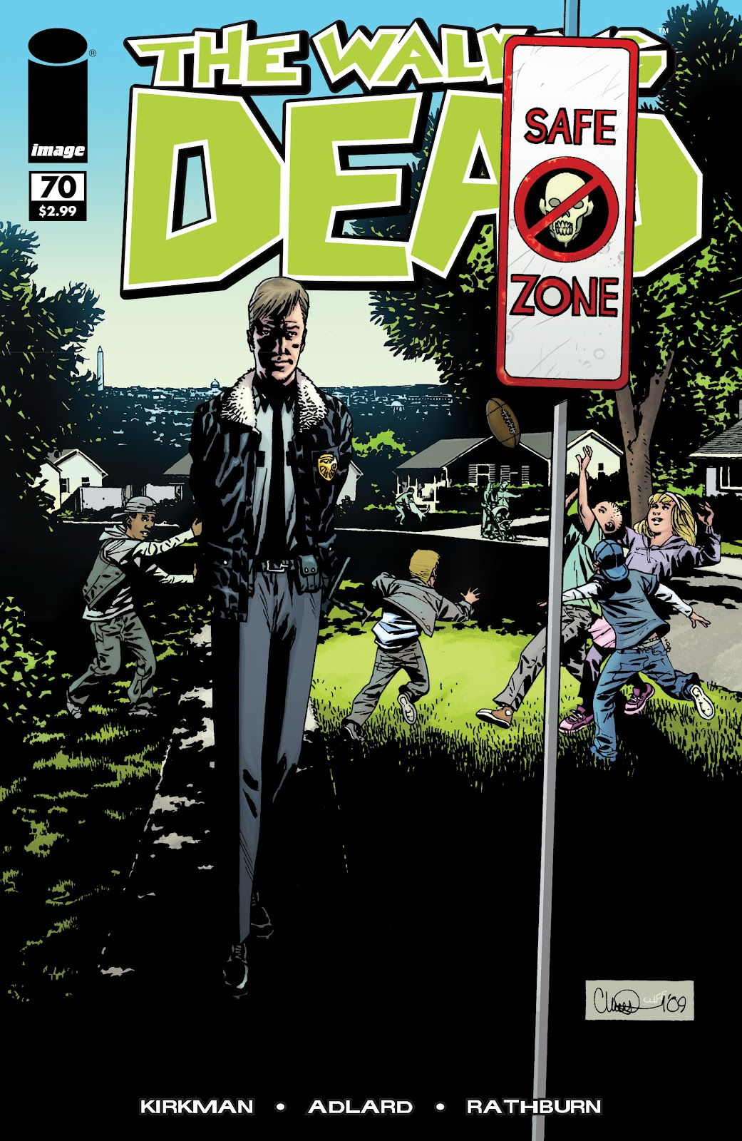 The Walking Dead issue 70 - Page 1