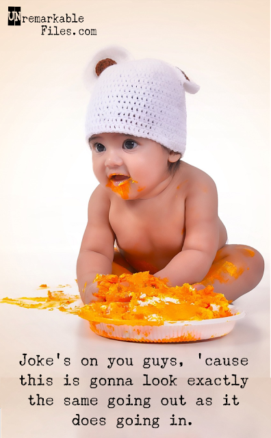 Laugh all you want, but these stock photos of babies with hilarious captions are too real. #parentinghumor #funnypictures #captions #hilarious #stockphoto #babies #real #unremarkablefiles