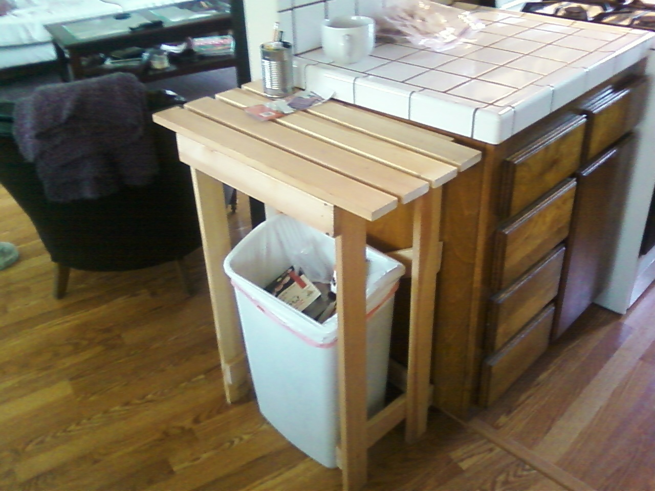Kitchen Island Bench With Drawers