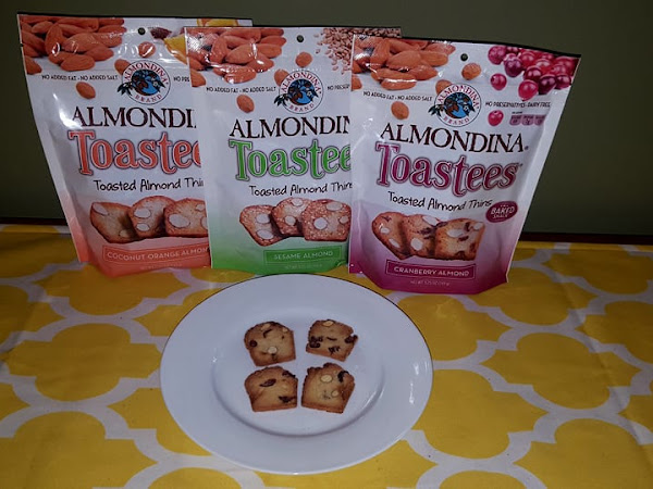Stay on Track to Reach Your Goals with Healthy Snacks from ALMONDINA Toastees + #Giveaway