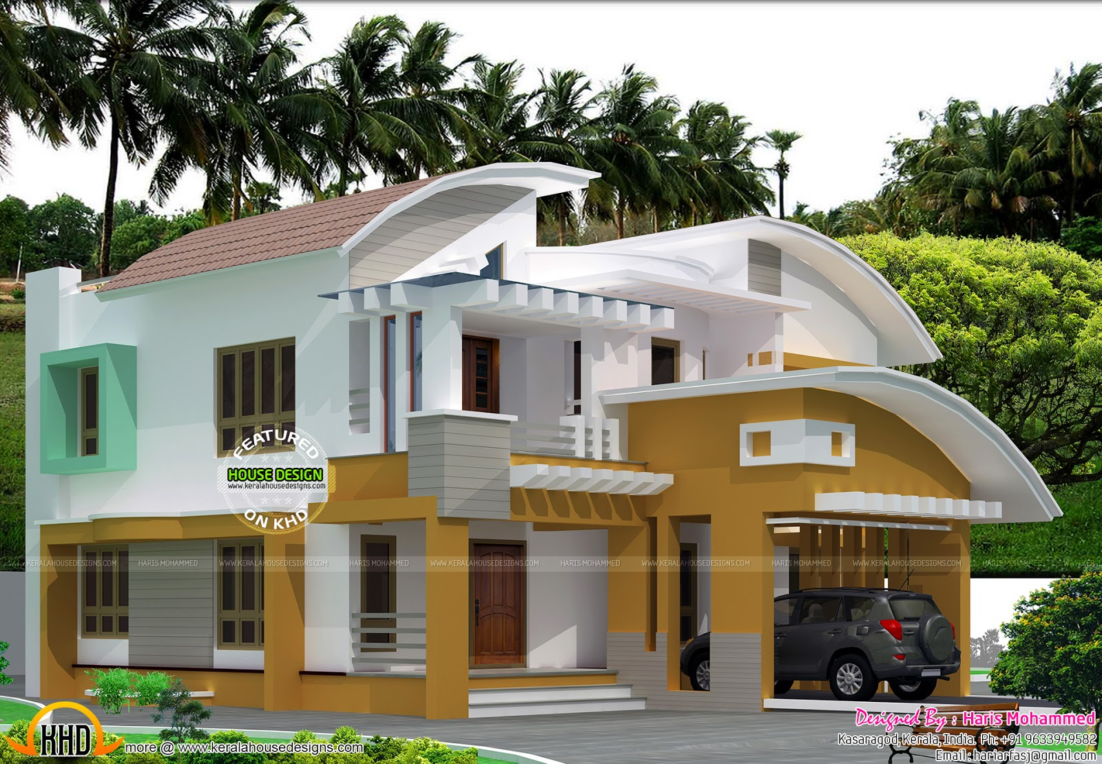 Modern Mix Roof Home Kerala Home Design And Floor Plans