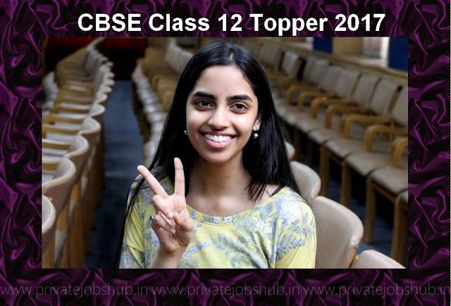 CBSE Class 12 Topper