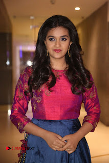 Actress Keerthi Suresh Stills at Remo Success Meet  0064.JPG