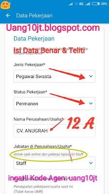Pinjaman Tunaiku Kode Agen uang10jt Pinjaman uang Bali