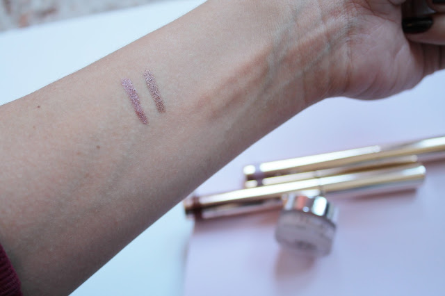 By Terry Ombre Blackstar Misty Rock and Bronze Moon Swatch