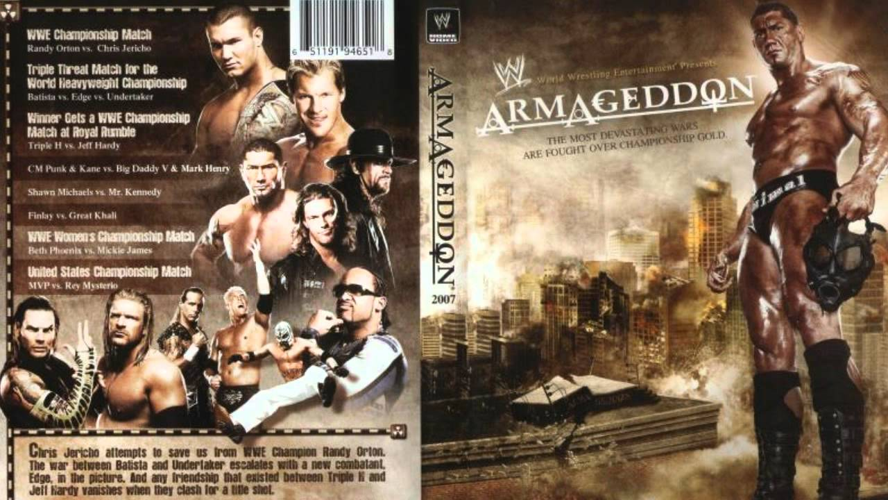 EOTR Retro: The 5 Best WWE Armageddon PPVs ~ EyesontheRing com