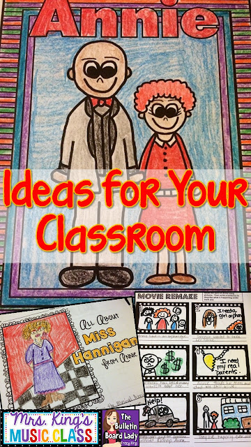 ANNIE -Ideas for Using This Musical in Your Classroom by Tracy King