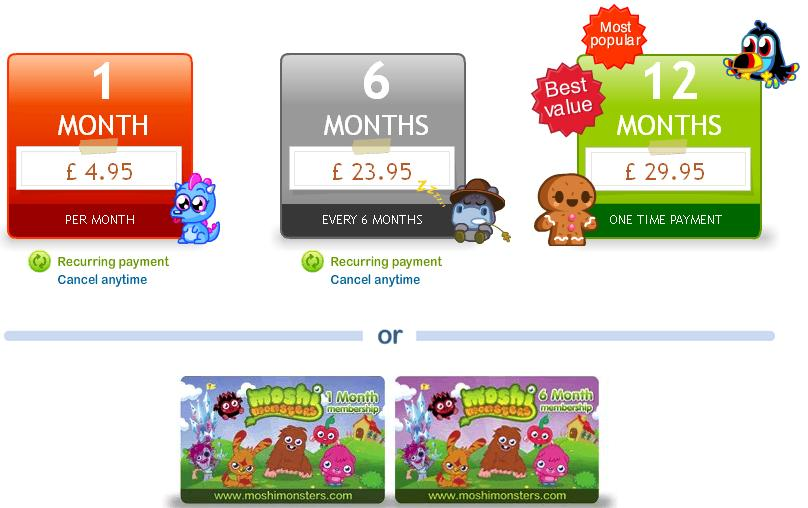 Moshi Monsters Hack (Health and Crystals) Codes and Cheats