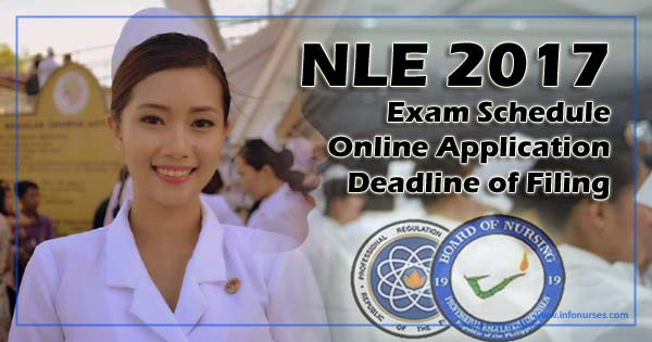 2017 NLE schedule, application requirements and deadline