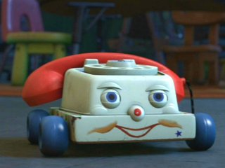 Le téléphone parlant dans Toy Story 3