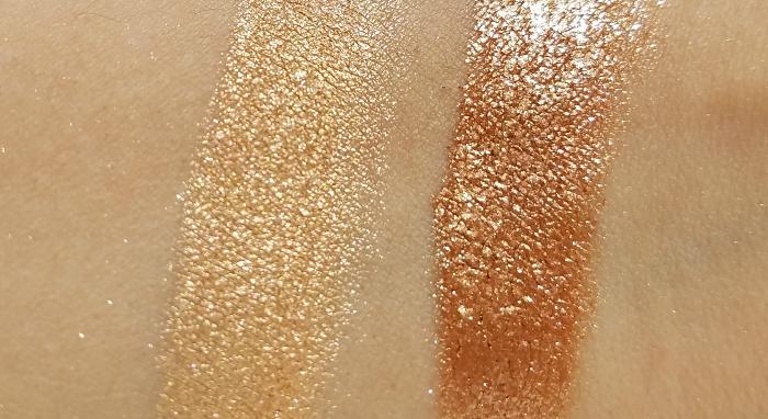 Swatches: L´Oréal Paris - Crushed Foil Highlighter - 5.1g - 9.95 Euro