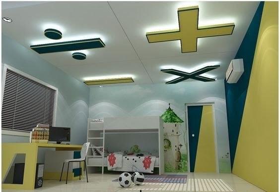 ديكورات جبس بورد غرف نوم اطفال ٢٠١٨ شركة ارابيسك