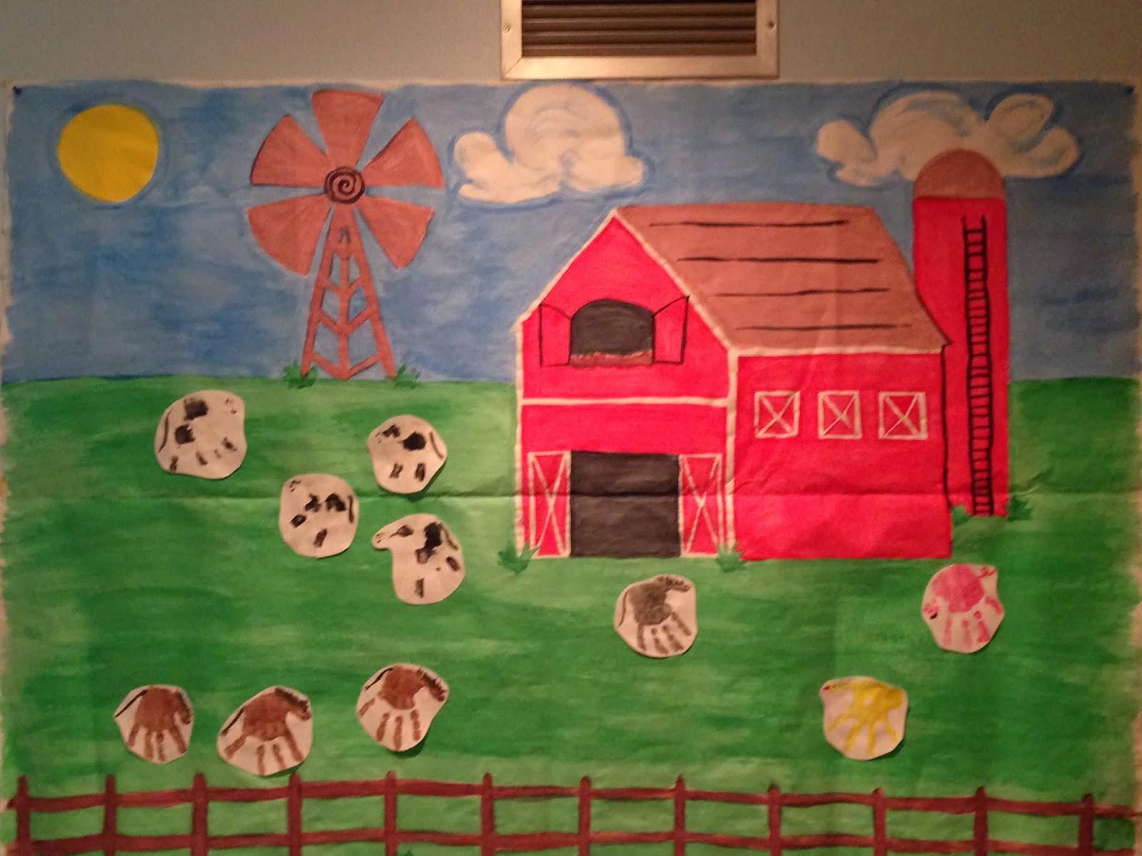 Keep Calm And Teach On Farm Animals I 6 Heart