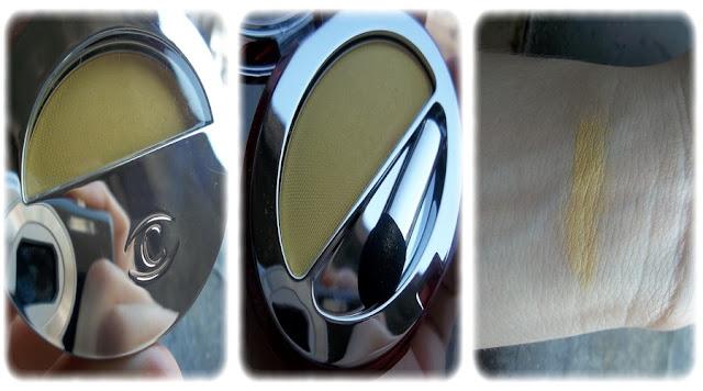 Swatch Ombre à Paupières Mono Couleur Teinte Sunny Yellow - Clarins