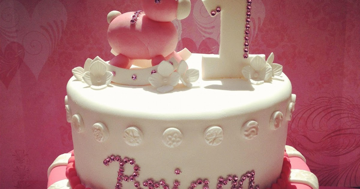 The Frosted Cake Boutique 1st Birthday Cake