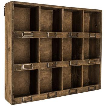 Farmhouse Wooden Cubby Shelf Styling Ideas