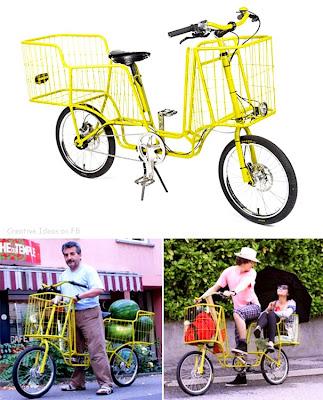 Idea Rekaan Kreatif - basikal serbaguna