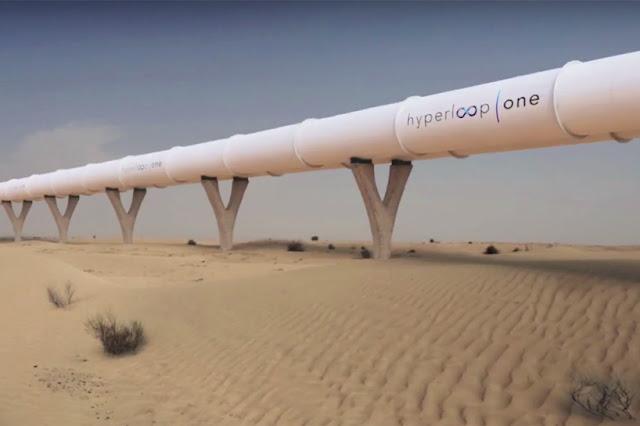 La empresa Hyperloop One lleva el concepto de Mosk a la realidad