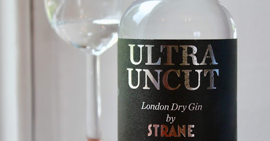 Introducing Strane Ultra Uncut Gin 82.5% - the world's new strongest gin?
