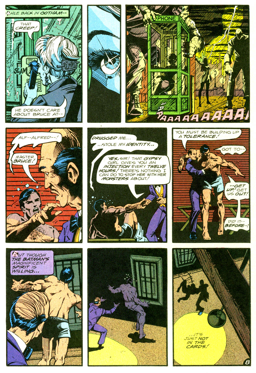 Read online Shadow of the Batman comic -  Issue #2 - 28