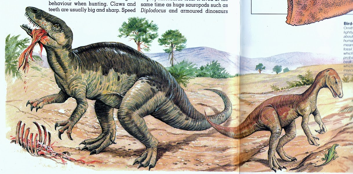 Allosaurus: Facts About the 'Different Lizard'