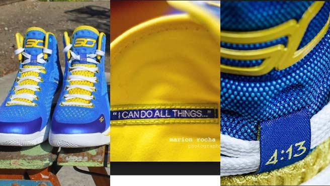 Stephen Curry dejó Nike para poner Filipenses 4:13 en sus botas