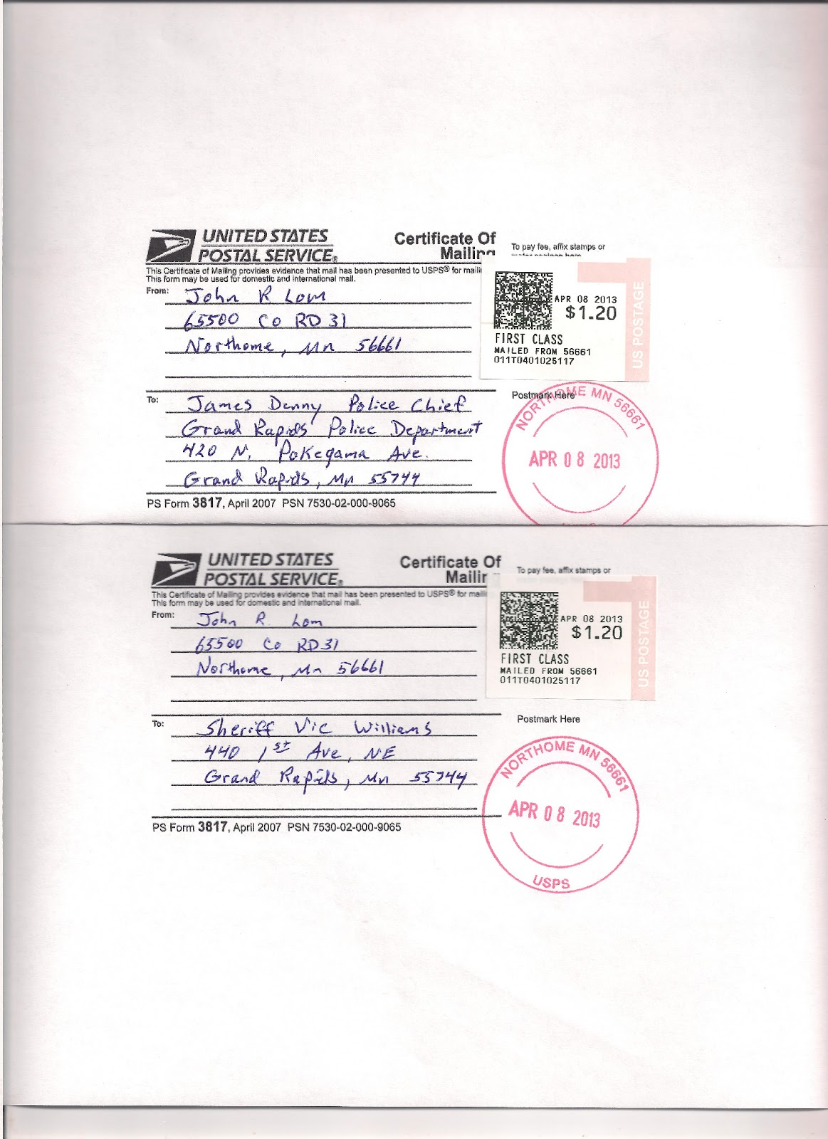Usps Form 3817 Cost Tekil Lessecretsdeparis Co