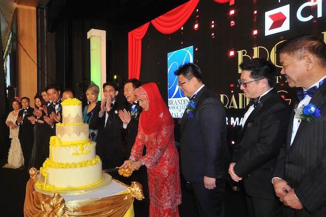 The 16th Anniversary of Branding Association of Malaysia was graced by SPB Raja Permaisuri Agong Tuanku Hajah Haminah