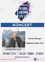 Koncert Marko Škugor Selca slike otok Brač Online