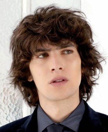 Las mejores variaciones de peinados rizados hombre Imagen de cortes de pelo tutoriales - Moda Cabellos: Peinados para hombres con el pelo rizado - 2015