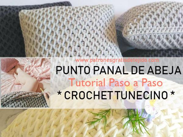 tunisian-smock-stitch