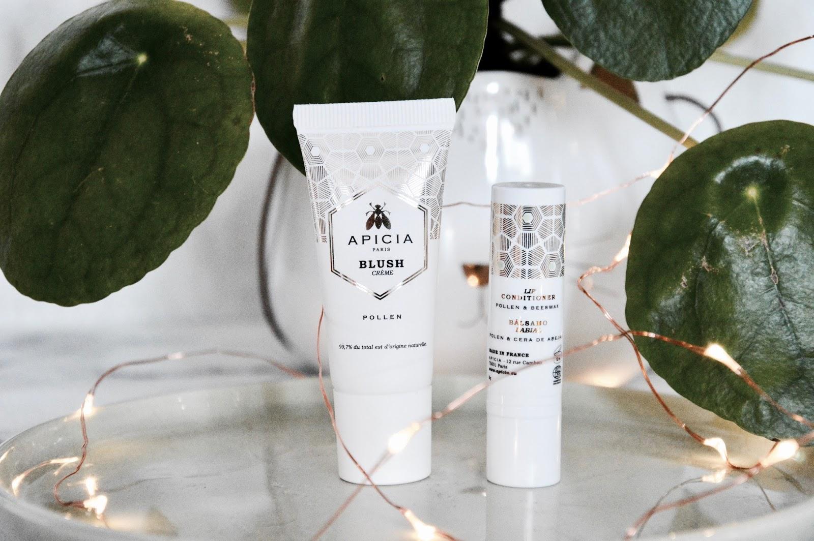 Test beauté : Baume à lèvre et blush crème Apicia