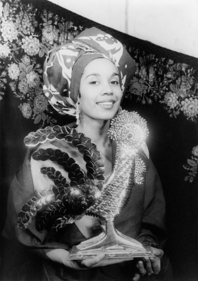 Photograph of Carmen de Lavallade in 1955 by Carl Van Vechten