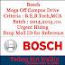 Confirm Offer in ROBERT #BOSCH . 2014-15-2016 Passout : Apply Now