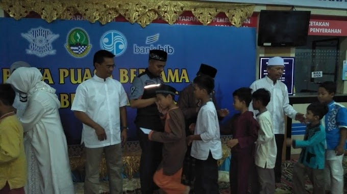 Ramadhan Berbagi, Samsat Cinere Santuni 30 Yatim