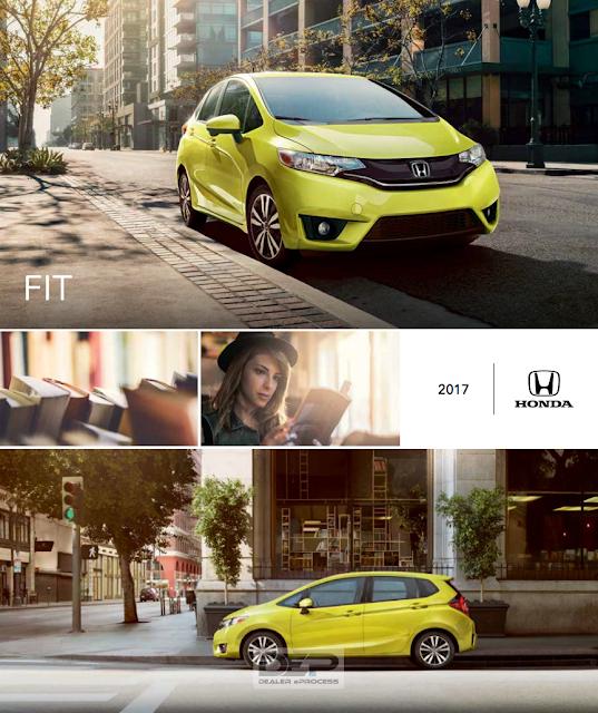Downloadable 2017 Honda Fit Brochure from RiverTown Honda