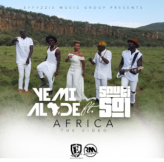 YEMI ALADE & SAUTI SOL - AFRICA (STUDIO SESSION)
