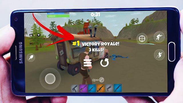 واخيرتحميل لعبة Practice Fortnite شبيهة Fortniteعلى اجهزة Android بحجم صغير 70mb افلاين