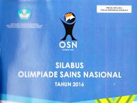 Download Silabus OSN (Olimpiade Sains Nasional) SMP Tahun 2016
