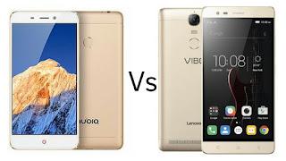 Nubia N1 -vs-Lenovo Vibe K5 Note