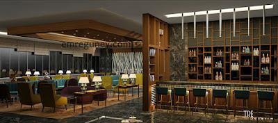 lobi salonu ve bar