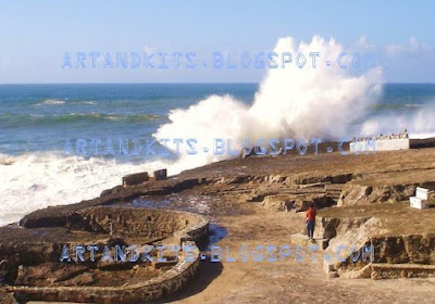 Foi no passado dia 28 de Janeiro, na Nazaré... / It was on the last January 28th, in Nazareth...